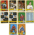 Hockey Cards:Sets, 1972-73 Topps Hockey Complete Set (176). High-grade complete set of 176 cards is made available here from the 1972-73 Topps...
