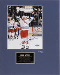 Hockey Collectibles:Others, Mark Messier Signed Photograph. After spending a quarter century in the NHL, Mark Messier etched his legend in the sport's ...