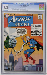 Action Comics #251 (DC, 1959) CGC NM- 9.2 Off-white to white pages. Curt Swan cover. Last appearance of Tommy Tomorrow b...