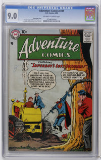 Adventure Comics #249 (DC, 1958) CGC VF/NM 9.0 Off-white to white pages. Curt Swan and Stan Kaye cover and art. Overstre...