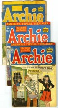 Golden Age (1938-1955):Humor, Archie Comics Group (Archie, 1947-54) Condition: Average VG. Issues include #26, 28, 30, 36, 40, 41, and 66. Issue #30 is in... (Total: 7 Comic Books)