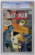 Silver Age (1956-1969):Superhero, Batman #119 (DC, 1958) CGC VF- 7.5 Off-white to white pages. Batwoman appearance. Curt Swan and Stan Kaye cover. Sheldon Mol...