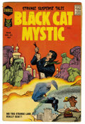 Silver Age (1956-1969):Horror, Black Cat Mystic #62 (Harvey, 1958) Condition: VG+. Name waschanged from Black Cat Mystery for this one issue. Overstre...