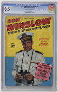 """Golden Age (1938-1955):War, Don Winslow of the Navy #66 Davis Crippen (""""D"""" Copy) pedigree(Fawcett, 1951) CGC VF+ 8.5 Off-white to white pages. Photo co..."""
