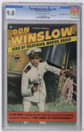 """Golden Age (1938-1955):War, Don Winslow of the Navy #69 Davis Crippen (""""D"""" Copy) pedigree(Fawcett, 1951) CGC VF/NM 9.0 Off-white to white pages. Photo ..."""