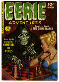 Golden Age (1938-1955):Horror, Eerie Adventures #1 (Ziff-Davis, 1951) Condition: VG/FN. Paintedbondage cover. Bob Powell art. Bernie Krigstein back cover....