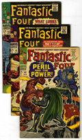 Silver Age (1956-1969):Superhero, Fantastic Four Group (Marvel, 1967-68) Condition: Average VG-. Group of late-'60s FF books, many featuring appearances by th... (Total: 13 Comic Books)