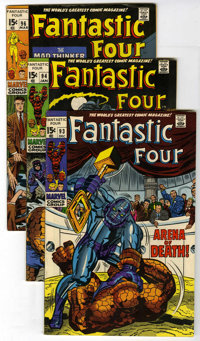 Fantastic Four Group (Marvel, 1969-72) Condition: Average FN. Included are #93, 94 (intro of Agatha Harkness), 95, 97, 9...