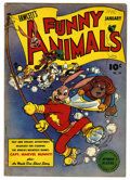Golden Age (1938-1955):Funny Animal, Fawcett's Funny Animals #34 (Fawcett, 1946) Condition: VG/FN. Funnyanimal stories. Features Captain Marvel Bunny. Overstree...