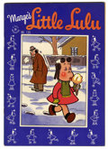 Golden Age (1938-1955):Cartoon Character, Four Color #139 Marge's Little Lulu - File Copy (Dell, 1947) Condition: VF. Here's Lulu's seventh featured appearance in thi...