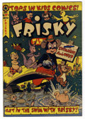 "Golden Age (1938-1955):Funny Animal, Frisky Fables #43 Davis Crippen (""D"" Copy) pedigree (StarPublications, 1950) Condition: VF. L.B. Cole cover. Overstreet200..."