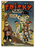 "Golden Age (1938-1955):Funny Animal, Frisky Fables #34 Davis Crippen (""D"" Copy) pedigree (StarPublications, 1949) Condition: VF-. Overstreet 2006 VF 8.0 value=..."