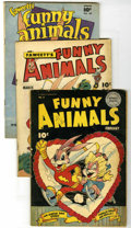 Golden Age (1938-1955):Funny Animal, Fawcett's Funny Animals, Group (Fawcett, 1944-48). Includes issues#15 (Fair, page out, affects story), #27 (GD), and #58 (G...(Total: 4 Comic Books)