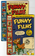 "Golden Age (1938-1955):Funny Animal, Funny Films #11 and 12 Davis Crippen (""D"" Copy) pedigree Group(ACG, 1949). Includes #11 in FN+ condition, and #12 in FN con...(Total: 2 Comic Books)"