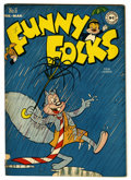 "Golden Age (1938-1955):Funny Animal, Funny Folks #6 Davis Crippen (""D"" Copy) pedigree (DC, 1947)Condition: FN. Nutsy Squirrel cover. Overstreet 2006 FN 6.0 valu..."