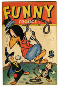 "Golden Age (1938-1955):Funny Animal, Funny Frolics #4 Davis Crippen (""D"" Copy) pedigree (Timely, 1946)Condition: VF/NM. Overstreet 2006 VF/NM 9.0 value = $76; N..."
