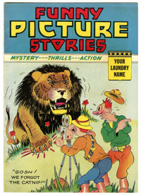 Funny Picture Stories Laundry Giveaway #nn (Comics Magazine Co./Centaur Publications, 1938) Condition: FN. Promotional c...