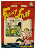 "Golden Age (1938-1955):Funny Animal, Funny Stuff #27 Davis Crippen (""D"" Copy) pedigree (DC, 1947)Condition: VG-. Overstreet 2006 VG 4.0 value = $22. From the..."