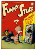 "Golden Age (1938-1955):Funny Animal, Funny Stuff #39 Davis Crippen (""D"" Copy) pedigree (DC, 1948)Condition: VF/NM. Overstreet 2006 VF/NM 9.0 value = $72; NM- 9...."