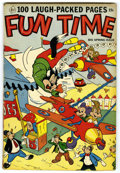 Golden Age (1938-1955):Funny Animal, Fun Time #1 (Ace, 1953) Condition: FN-. 100 pages of funny animalstories. Overstreet 2006 FN 6.0 value = $54. From the Co...