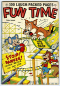 Golden Age (1938-1955):Funny Animal, Fun Time #3 (Ace, 1953) Condition: FN+. 100 pages of funny animalstories. Overstreet 2006 FN 6.0 value = $45; VF 8.0 value ...