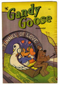"Golden Age (1938-1955):Funny Animal, Gandy Goose Comics #4 Davis Crippen (""D"" Copy) pedigree (St. John,1953) Condition: VF-. Overstreet 2006 VF 8.0 value = $28...."