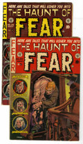 Golden Age (1938-1955):Horror, Haunt of Fear #20 and 26 Group (EC, 1953-54). Included are #20(GD+, bottom right corner torn off and taped back from inside...(Total: 2 Comic Books)