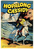 Golden Age (1938-1955):Western, Hopalong Cassidy #12 Mile High pedigree (Fawcett, 1947) Condition: NM-. This nice looking Mile High Fawcett book features on...