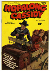 Hopalong Cassidy #39 Mile High pedigree (Fawcett, 1950) Condition: NM+. This is likely to be the nicest copy of this iss...