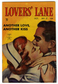 "Golden Age (1938-1955):Romance, Lovers' Lane #17 Davis Crippen (""D"" Copy) pedigree (Lev Gleason,1951) Condition: FN. Painted cover. Overstreet 2006 FN 6.0 ..."