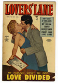 "Golden Age (1938-1955):Romance, Lovers' Lane #30 Davis Crippen (""D"" Copy) pedigree (Lev Gleason,1952) Condition: VF-. Photo cover. Overstreet 2006 VF 8.0 v..."
