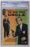 Silver Age (1956-1969):Adventure, Man from U.N.C.L.E. #12 File Copy (Gold Key, 1967) CGC NM 9.4 Off-white pages. Robert Vaughn and David McCallum photo cover....