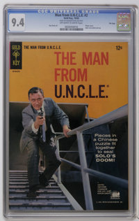 Man from U.N.C.L.E. #2-5 and 7 File Copies Group (Gold Key, 1965-66) CGC NM 9.4. Includes slabbed copies of #2 (Don Heck...