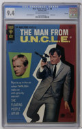 Silver Age (1956-1969):Adventure, Man from U.N.C.L.E. #8 and 11-13 File Copies CGC Group (Gold Key, 1966-67). Includes CGC NM 9.4 copies of #8, 11, and 13, an... (Total: 4 Comic Books)