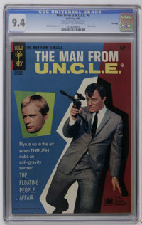 Man from U.N.C.L.E. #8 and 11-13 File Copies CGC Group (Gold Key, 1966-67). Includes CGC NM 9.4 copies of #8, 11, and 13...