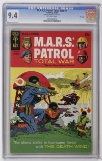 M.A.R.S. Patrol Total War #7 and 9 File Copies CGC Group (Gold Key, 1968-69). Includes slabbed copies of #7 (NM 9.4) and...
