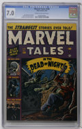 Golden Age (1938-1955):Horror, Marvel Tales #106 (Atlas, 1952) CGC FN/VF 7.0 Cream to off-whitepages. Decapitation story. Russ Heath cover. Heath, Bill Ev...