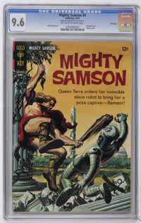 Mighty Samson File Copies CGC Group (Gold Key, 1967-68) CGC NM+ 9.6. Set of slabbed books includes CGC NM+ 9.6 graded co...