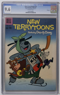 New Terrytoons #3, 5, and 8 File Copies CGC Group (Dell, 1960-62). Includes CGC NM+ 9.6 graded copies of #3 and 5, and a...