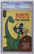 Silver Age (1956-1969):Cartoon Character, Popeye #79 File Copy (Gold Key, 1966) CGC NM+ 9.6 Off-white pages. Overstreet 2006 NM- 9.2 value = $48. CGC census 9/06: 3 i...