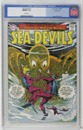 Silver Age (1956-1969):Superhero, Sea Devils #17 Pacific Coast pedigree (DC, 1964) CGC NM/MT 9.8 White pages. Howard Purcell handled art chores for this issue...