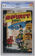 """Golden Age (1938-1955):Crime, The Spirit #17 Davis Crippen (""""D"""" Copy) pedigree (Quality, 1949) CGC FN+ 6.5 Off-white pages. Will Eisner cover. Overstreet ..."""