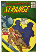 Silver Age (1956-1969):Horror, Strange #1 (Ajax / Farrell, 1957) Condition: VG+. First issue of asix-issue run of EC-style horror comics. Overstreet 2006 ...