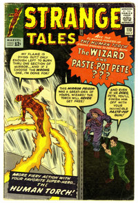 Strange Tales #110 (Marvel, 1963) Condition: VG. The Master of Mystic arts, Doctor Strange, makes his first appearance...