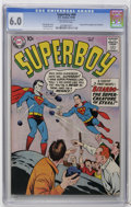 Silver Age (1956-1969):Superhero, Superboy #68 (DC, 1958) CGC FN 6.0 Off-white pages. Origin and first appearance of Bizarro. Curt Swan cover. George Papp art...