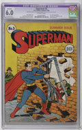 Golden Age (1938-1955):Superhero, Superman #5 (DC, 1940) CGC Apparent FN 6.0 Extensive (P) Off-white pages. This early issue of the popular title features the...