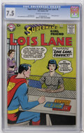 Silver Age (1956-1969):Superhero, Superman's Girl Friend Lois Lane #6 (DC, 1959) CGC VF- 7.5 Off-white to white pages. Robin appearance. Curt Swan cover. Kurt...