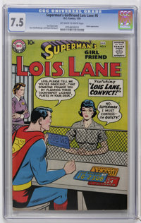 Superman's Girl Friend Lois Lane #6 (DC, 1959) CGC VF- 7.5 Off-white to white pages. Robin appearance. Curt Swan cover...