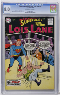 Superman's Girl Friend Lois Lane #8 (DC, 1959) CGC VF 8.0 Off-white to white pages. Curt Swan and Stan Kaye cover. Art b...