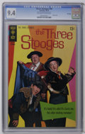 Bronze Age (1970-1979):Humor, Three Stooges #49 File Copy (Gold Key, 1970) CGC NM 9.4 Off-whiteto white pages. Photo cover. Overstreet 2006 NM- 9.2 value...